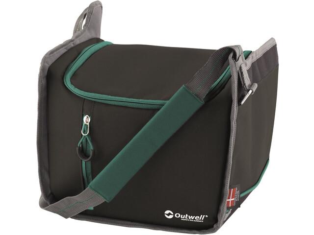 Outwell Cormorant Bolsa Refrigerante S, negro/verde